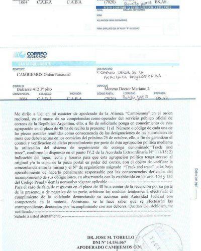 La atención está puesta sobre el Correo Argentino, Indra y Ersa, la empresa que traslada las urnas