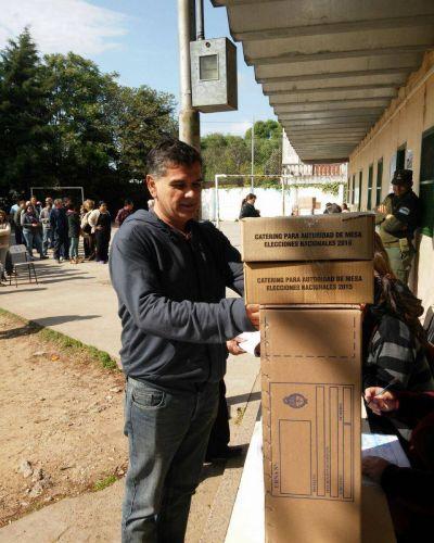 Votó el concejal Cesar Siror