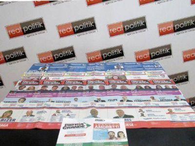 Elecciones 2015: Colores y n�meros de las boletas que los platenses encontrar�n el cuarto oscuro