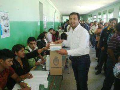 En Santa María, ya votaron Sánchez y Marsilli