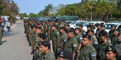 Llegaron 500 gendarmes a Formosa para reforzar la seguridad en las elecciones