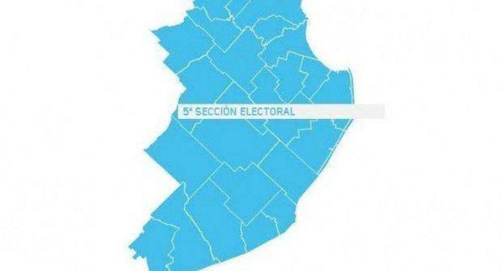 Todos los candidatos y los escenarios en la quinta sección electoral
