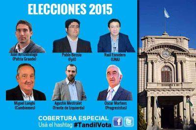 Seis candidatos para un sillón