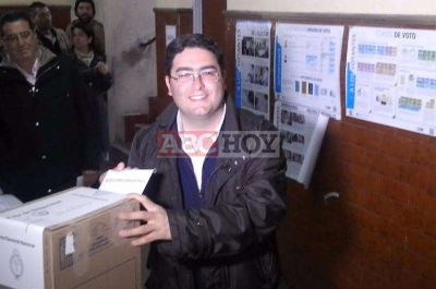 Votó Pablo Bossio