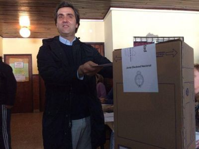 Sufragó el candidato Leonardo Boto