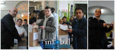 #BalcarceVota | El sufragio de los candidatos