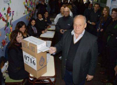 """Mario Raúl Merlo, """"Somos muy optimistas con el resultado de las elecciones"""""""