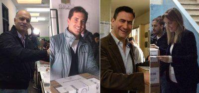 Votaron los candidatos a intendente de Cambiemos