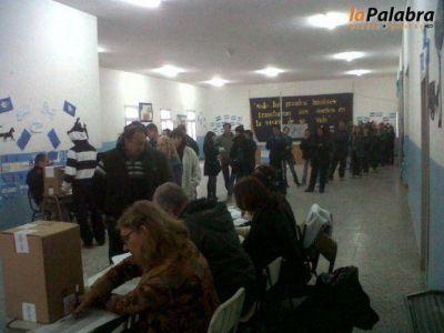 Finalizaron los comicios y comienza el escrutinio de votos en Patagones