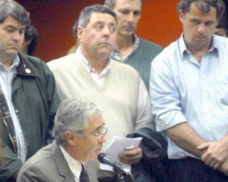 """""""Estamos a la puerta de otra 125"""", advirti� el ruralista Alfredo De Angeli"""