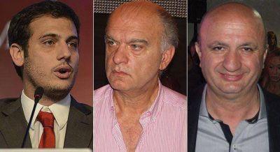 EN ALSINA JULIAN ALVAREZ Y GRINDETTI CABEZA A CABEZA, RUSSO TERCERO Y LEJOS