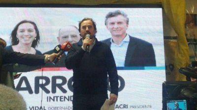 """Giri: """"Arroyo es el nuevo intendente de Mar del Plata"""""""