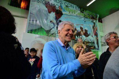Andreotti fue reelecto con mas del 50% de los votos en San Fernando
