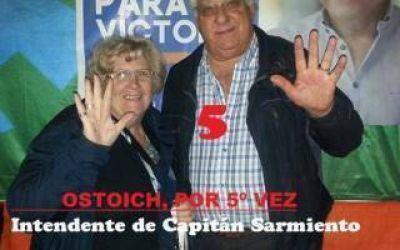 Elecciones 2015: Ostoich será Intendente de Capitán Sarmiento por quinta vez