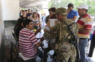 Tucumán: esta vez no hubo violencia ni urnas quemadas