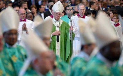 Tras el sínodo, el Papa insistió: