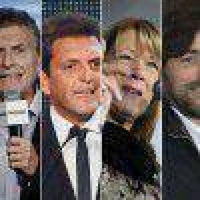 Oficial: Macri 50%, Scioli 24% y Massa 15%