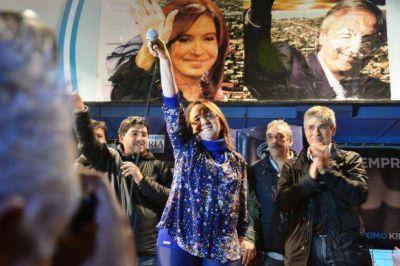 Alicia Kirchner se proclamó gobernadora de Santa Cruz
