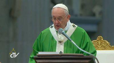 TEXTO COMPLETO: Homilía del Papa Francisco en la Misa de clausura del Sínodo de la Familia