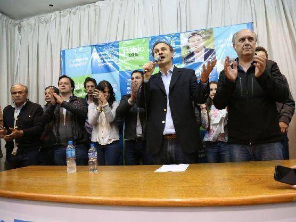 """Pablo Bruera reconoció su derrota: """"Garantizamos una transición en paz"""", dijo"""