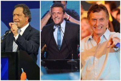 Resultados de las elecciones en Salta: Scioli 40.56%, Massa 34.06% y Macri 20.77%