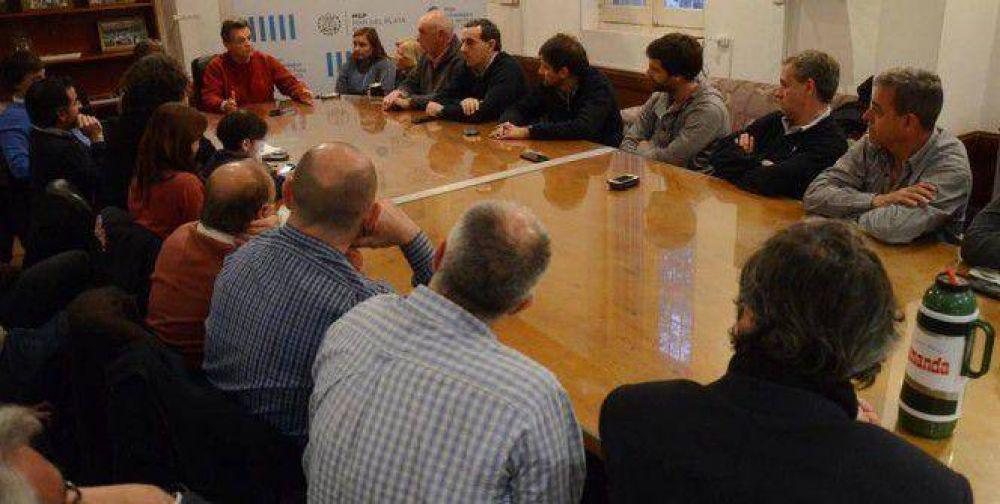 Pulti se reunió con su equipo de gestión
