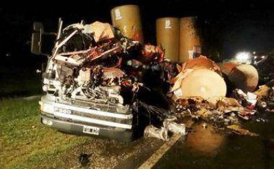 Tragedia en la Ruta 7 involucr� a un camionero sanjuanino