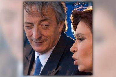 Cristina, y una foto para recordar a Néstor Kirchner