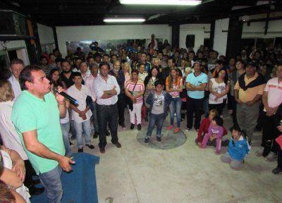 José Molina relanzó la campaña