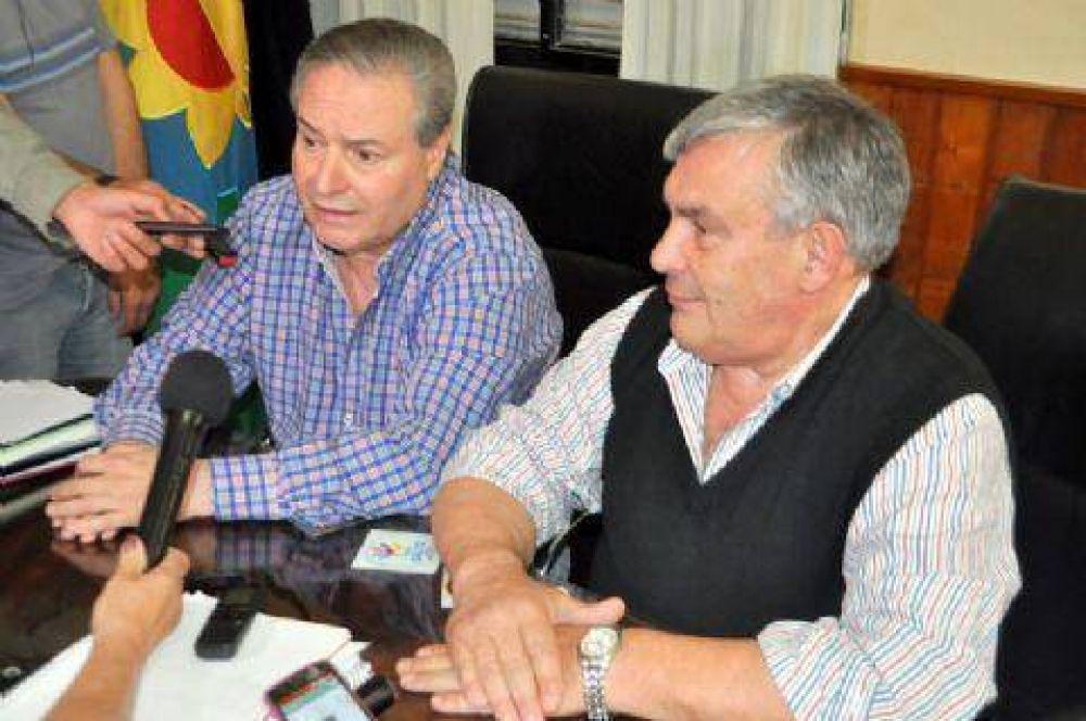 Brasca recibió al intendente electo
