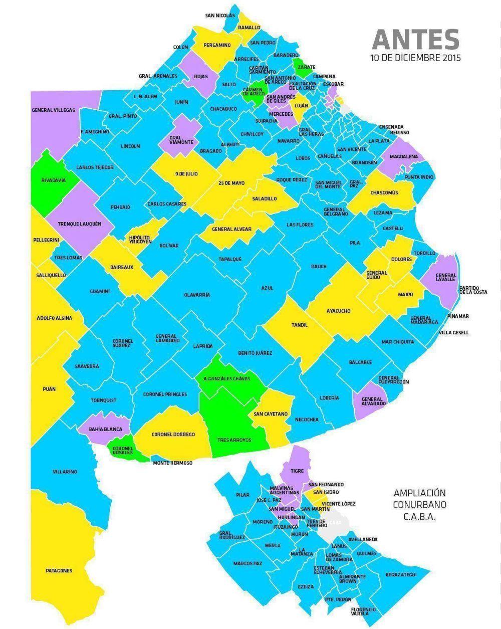 El Mapa Politico En Cada Municipio Post Elecciones