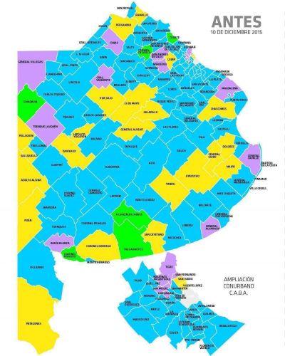 El mapa político en cada municipio post elecciones