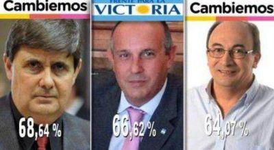 El podio de los intendentes más votados en la Provincia