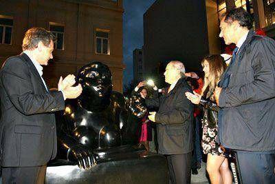 Con la presencia de Scioli, quedó inaugurado el Paseo Aldrey Cultural y Comercial