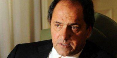 """La campaña """"Scioli Presidente"""" se centralizará en el Partido Justicialista"""