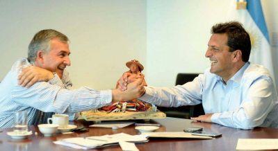 Massa se reunió con Gerardo Morales en Tigre