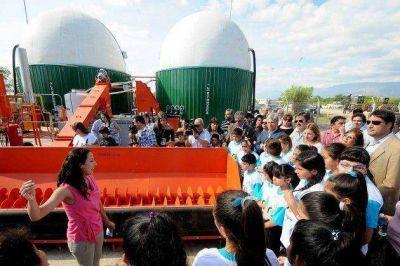 Se inauguró la primera Planta de Biogás en la provincia