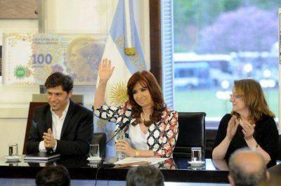 Clase magistral de Cristina en La Rosada