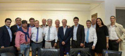 De Vido se reunió con intendentes de Santa Fe