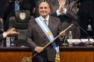 Tucumán: asumió Manzur y prometió impulsar reforma del sistema electoral