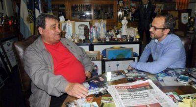 Recambio en el conurbano: El adiós de Curto y la foto de la transición junto a Valenzuela