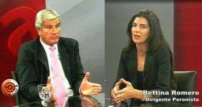Bettina Romero denigró a los votantes del interior y Zottos se enojó