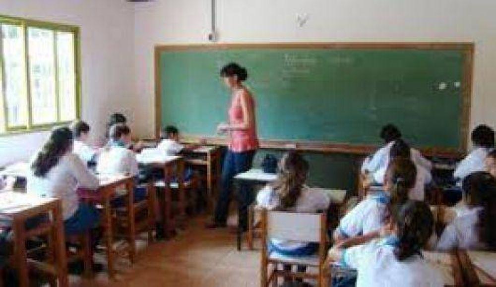 Gremios docentes reclamarán un cobro único por blanqueo
