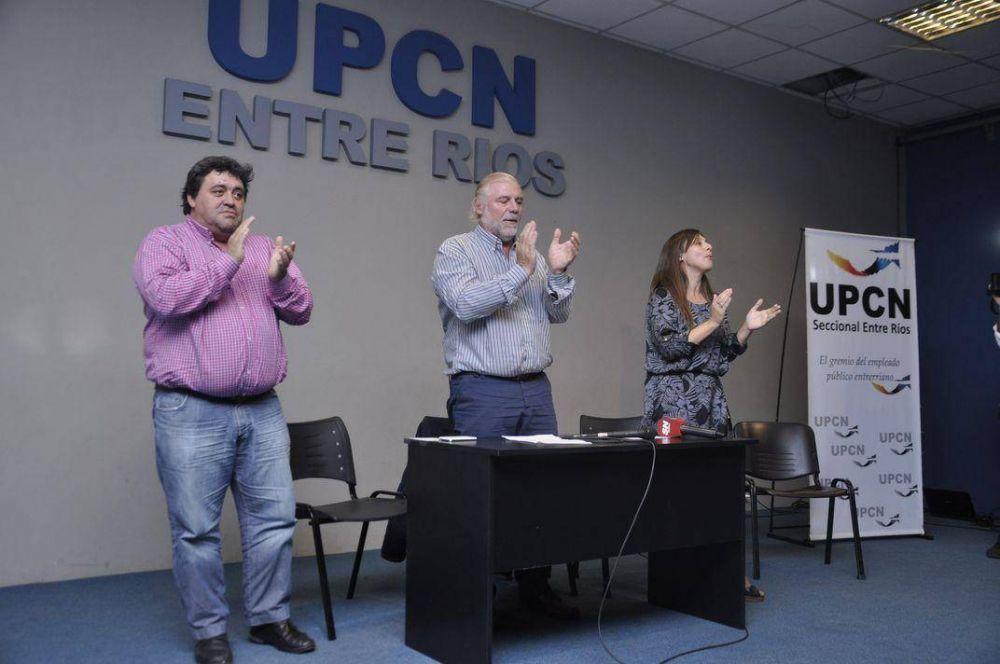 UPCN firmó un documento de apoyo a la candidatura de Scioli