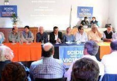 Funcionarios municipales participaron del plenario en apoyo a Scioli