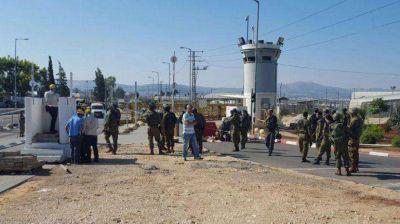 Nuevo ataque terrorista: un palestino intent� apu�alar a un soldado israel�