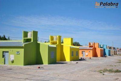 Curetti gestiona la reactivación de las obras de las 77 viviendas y del PROCREAR