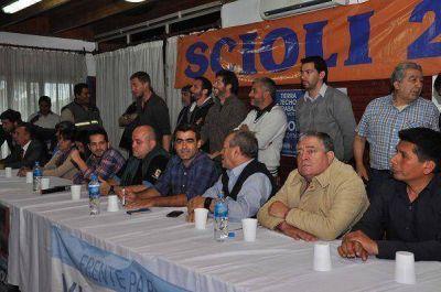 El FPV Tigre lanzó la campaña local de Daniel Scioli de cara al balotaje