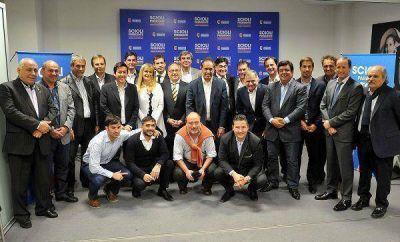 Scioli recibió el apoyo de intendentes electos del FPV