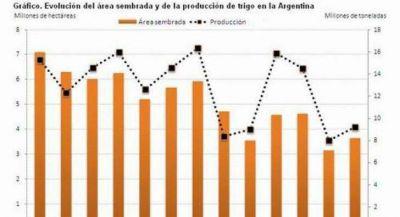La expansi�n del trigo se choc� con la irracionalidad del Gobierno nacional